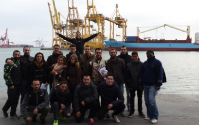 Visita al Port de Barcelona dels alumnes Transport i Logística – 1