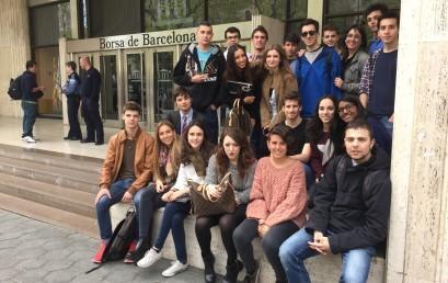 Visita a la Borsa de Barcelona amb els alumnes de 2n de Batxillerat