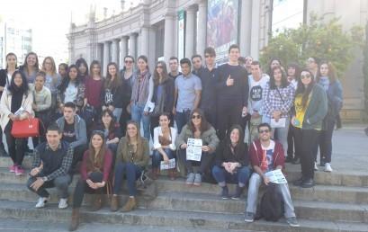 Els alumnes de Turisme visiten el B-Travel (Saló del Turisme)
