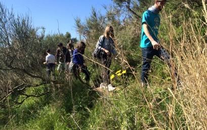 Els alumnes de Turisme visiten el Parc Natural de Collserola.