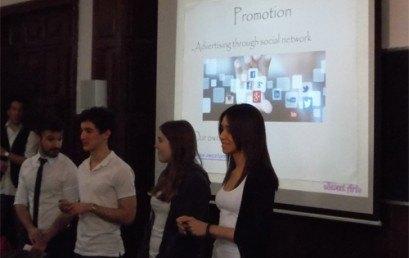 Acte Cloenda del Programa d'Emprenedoria amb els alumnes de 1r. curs de Cicles Formatius