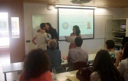 Alumnes de Cicles Formatius en el Concurs Mango Smile
