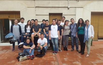 Ex-alumnes expliquen la seva experiència de projecte a 2n d'AFI