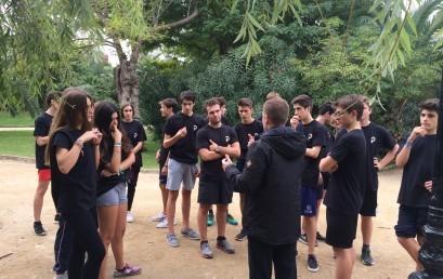 Sessió de running al Parc de la Ciutadella