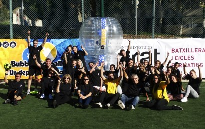 Bubble Football al Social Day del Centre d'Estudis Prat