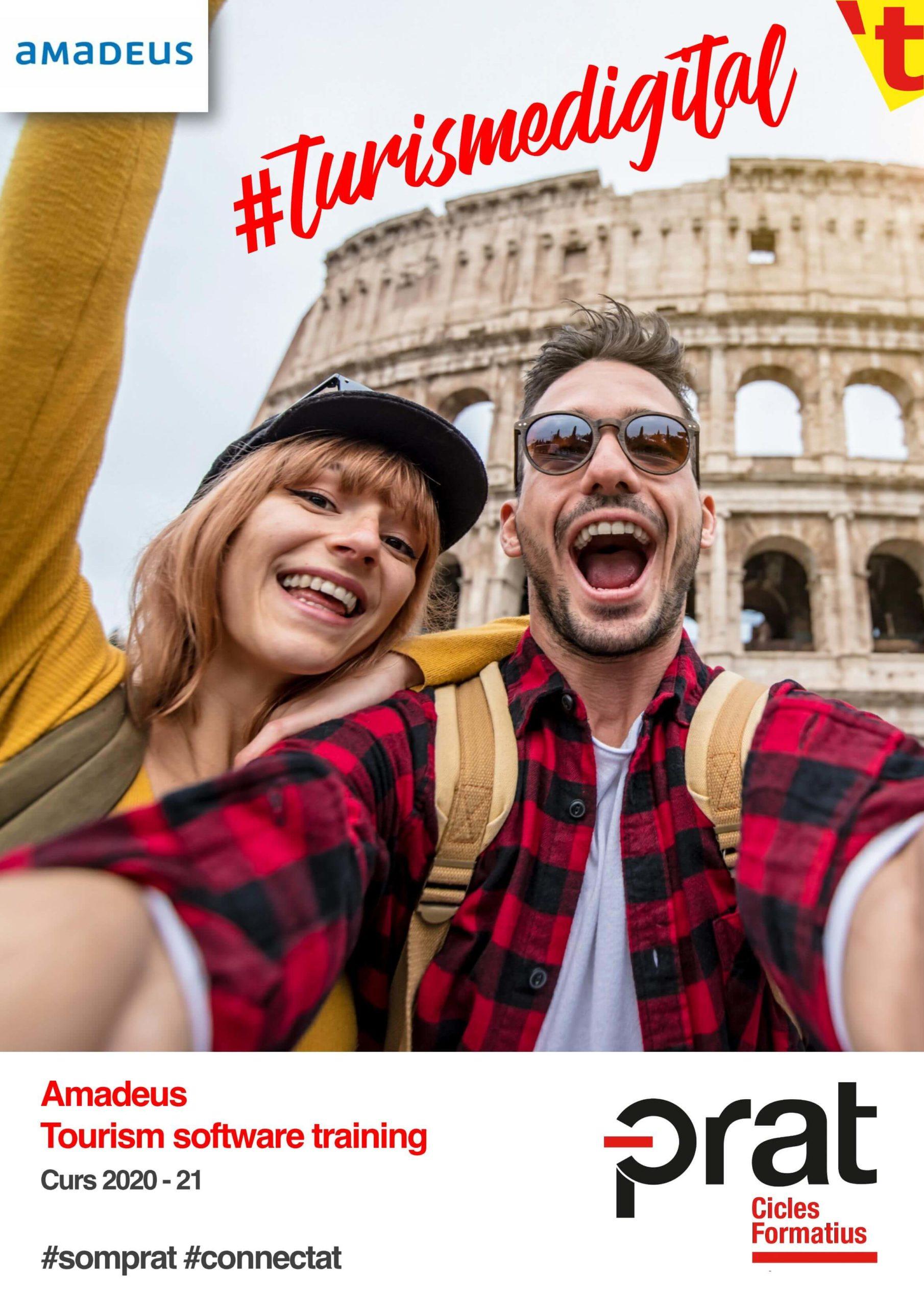 Amadeus Tourism software training - Cicles Formatius de Grau Superior a Prat Educació