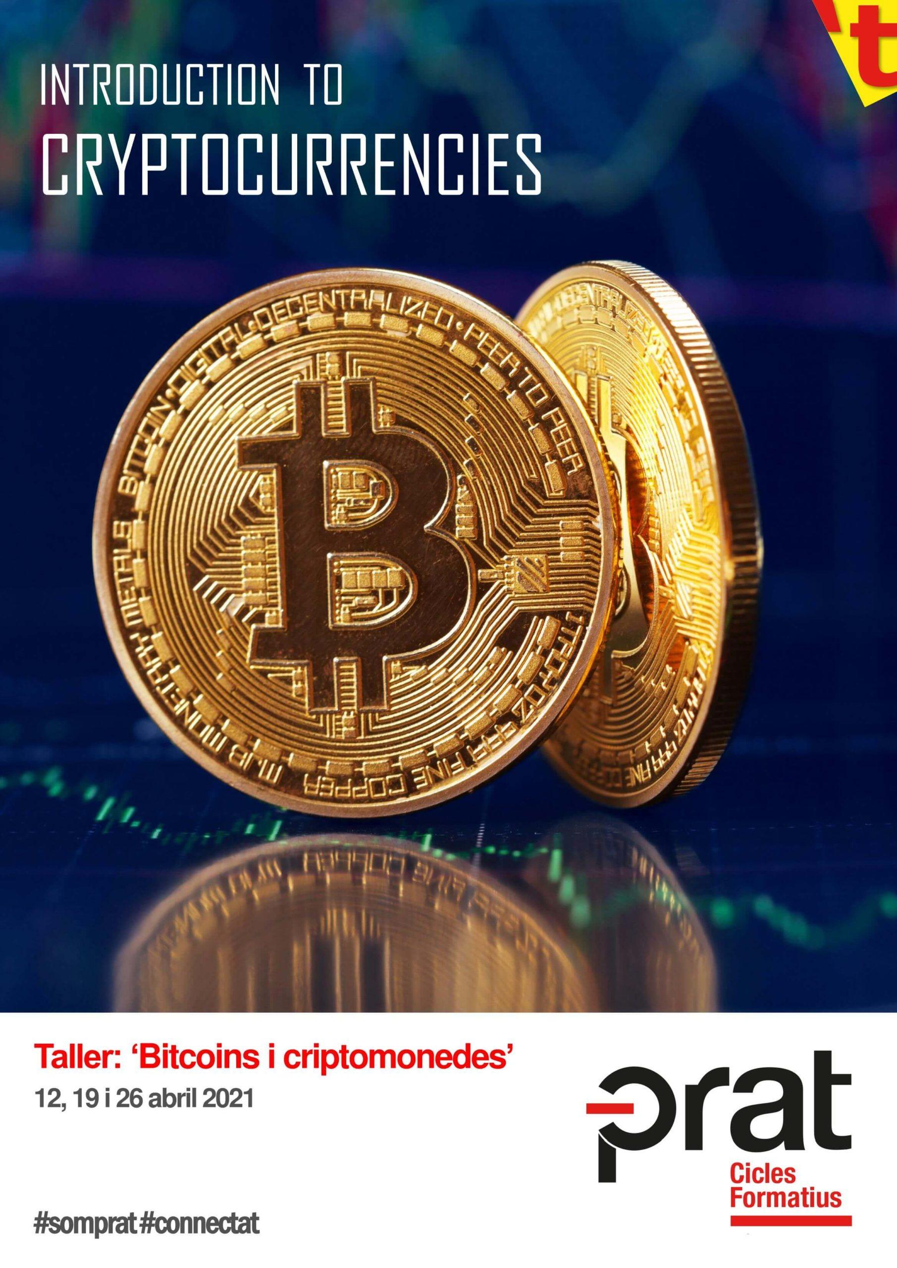 Bitcoins i criptomonedes - Cicles Formatius a Prat Educació