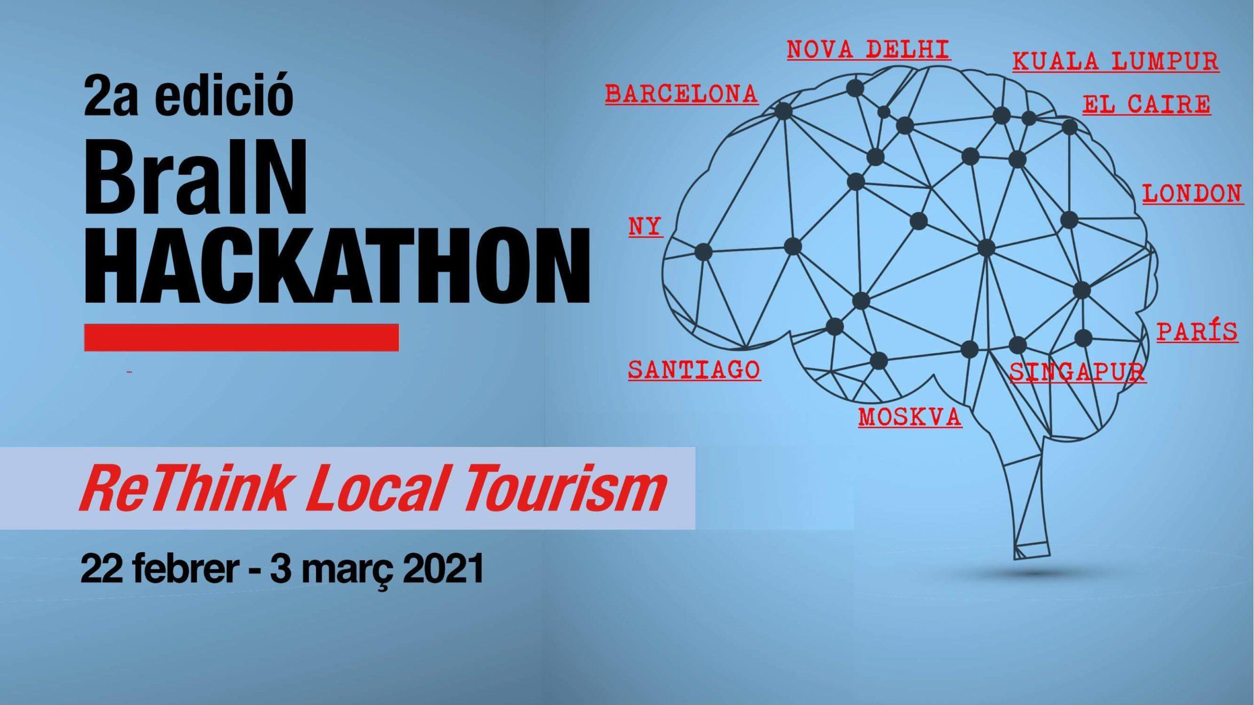 2a edició BraIN Hackathon ReThink Local Tourism