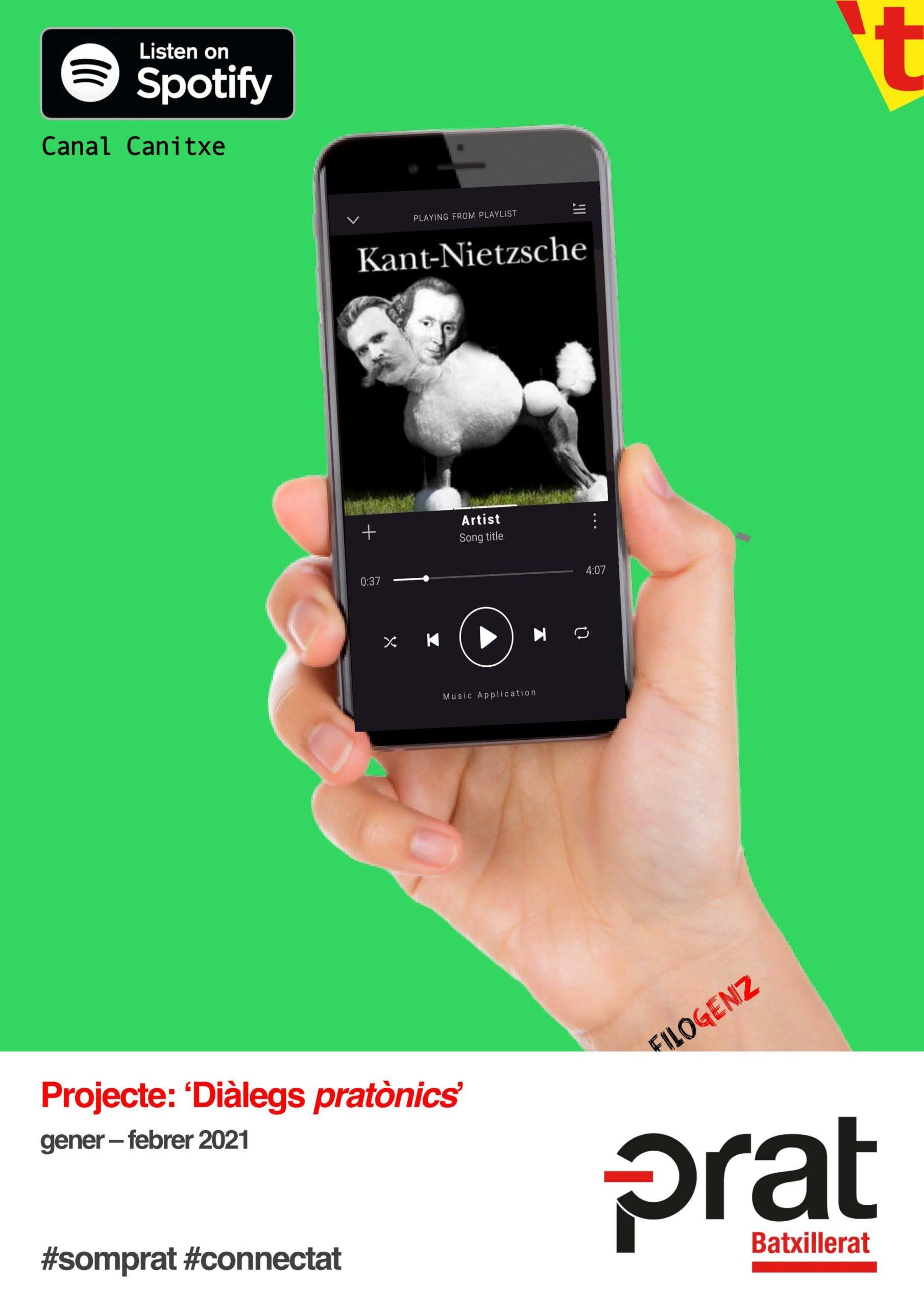 Projecte: Diàlegs pratònics - Batxillerat
