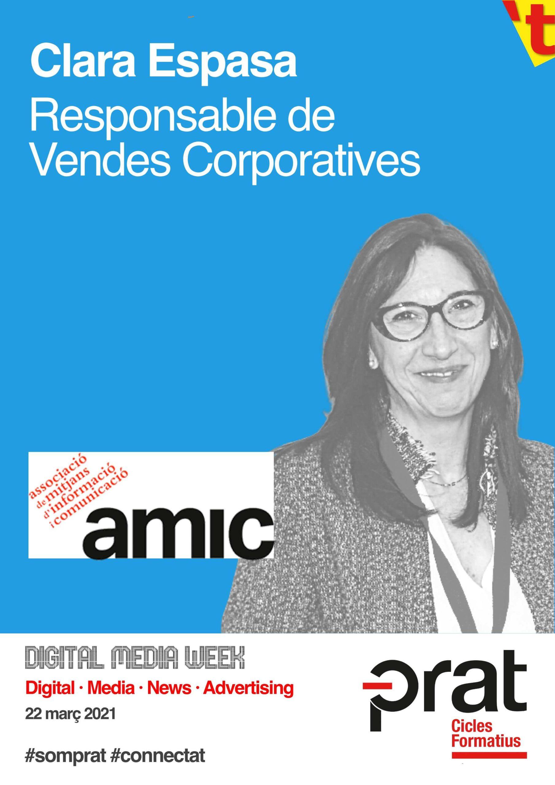 Digital Media Week: AMIC - Cicle Formatiu de Grau Superior de Màrqueting i Publicitat a Prat Educació