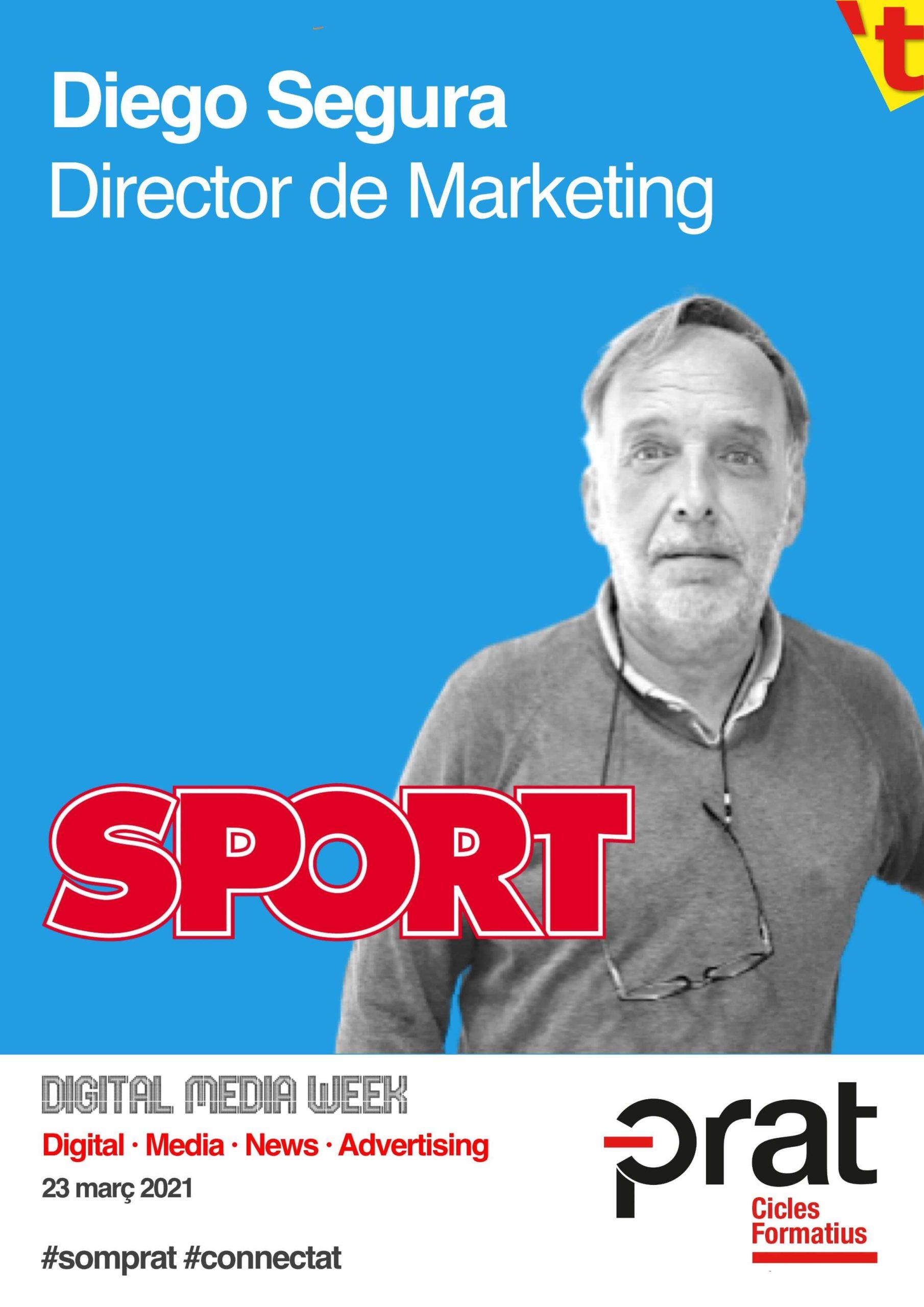 Digital Media Week: Sport - Cicle Formatiu de Grau Superior de Màrqueting i Publicitat a Prat Educació