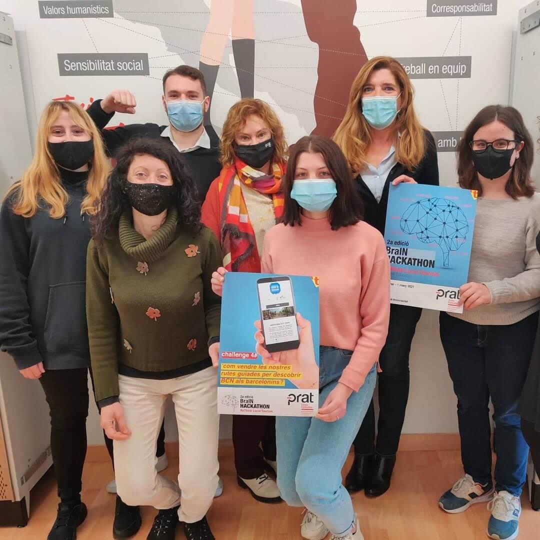 Hackathon de Turisme: Guies de Barcelona - Cicle Formatiu de Grau Superior de Turisme a Prat Educació