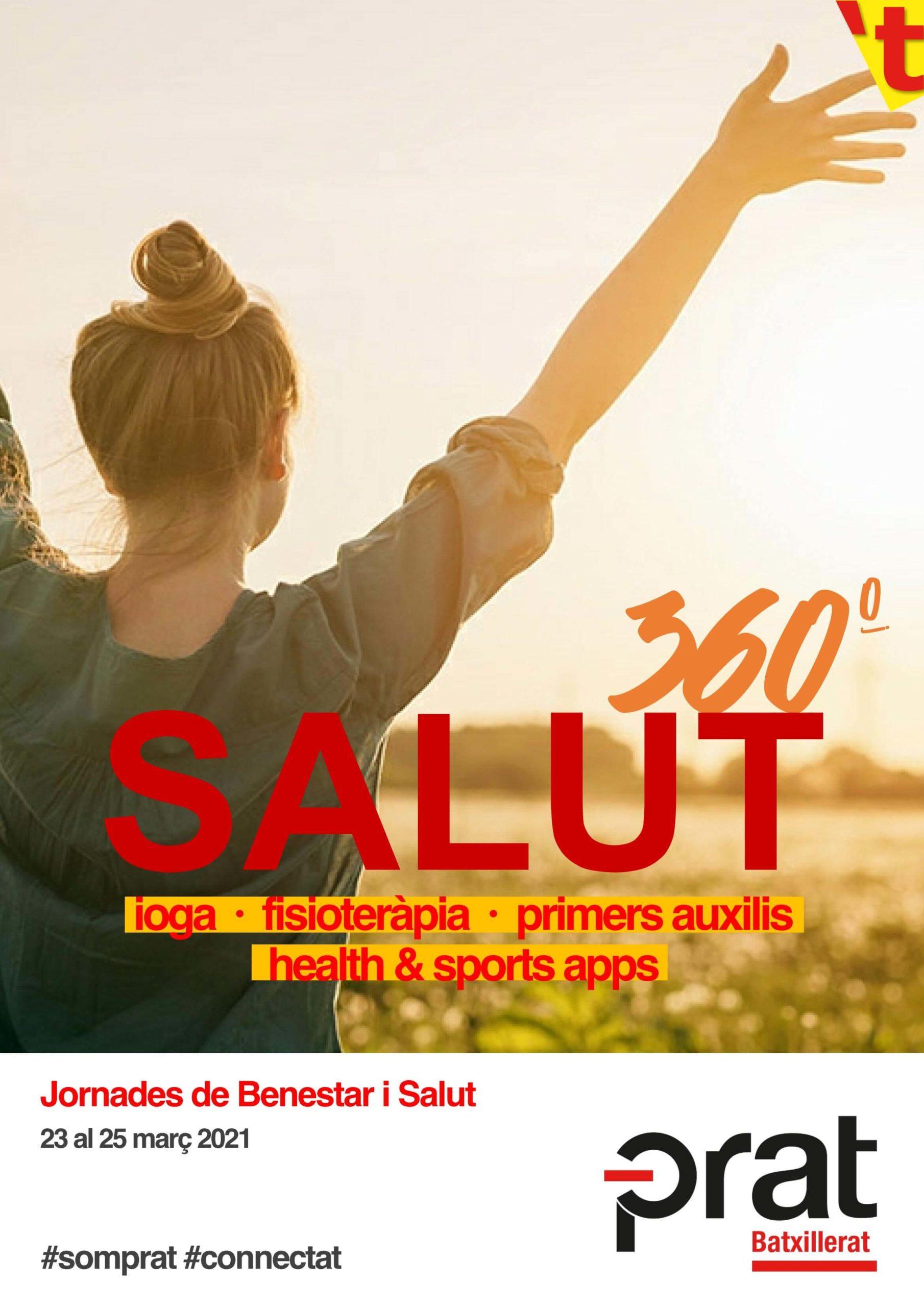 Jornades de Benestar i Salut: salut 360º - Batxillerat a Prat Educació
