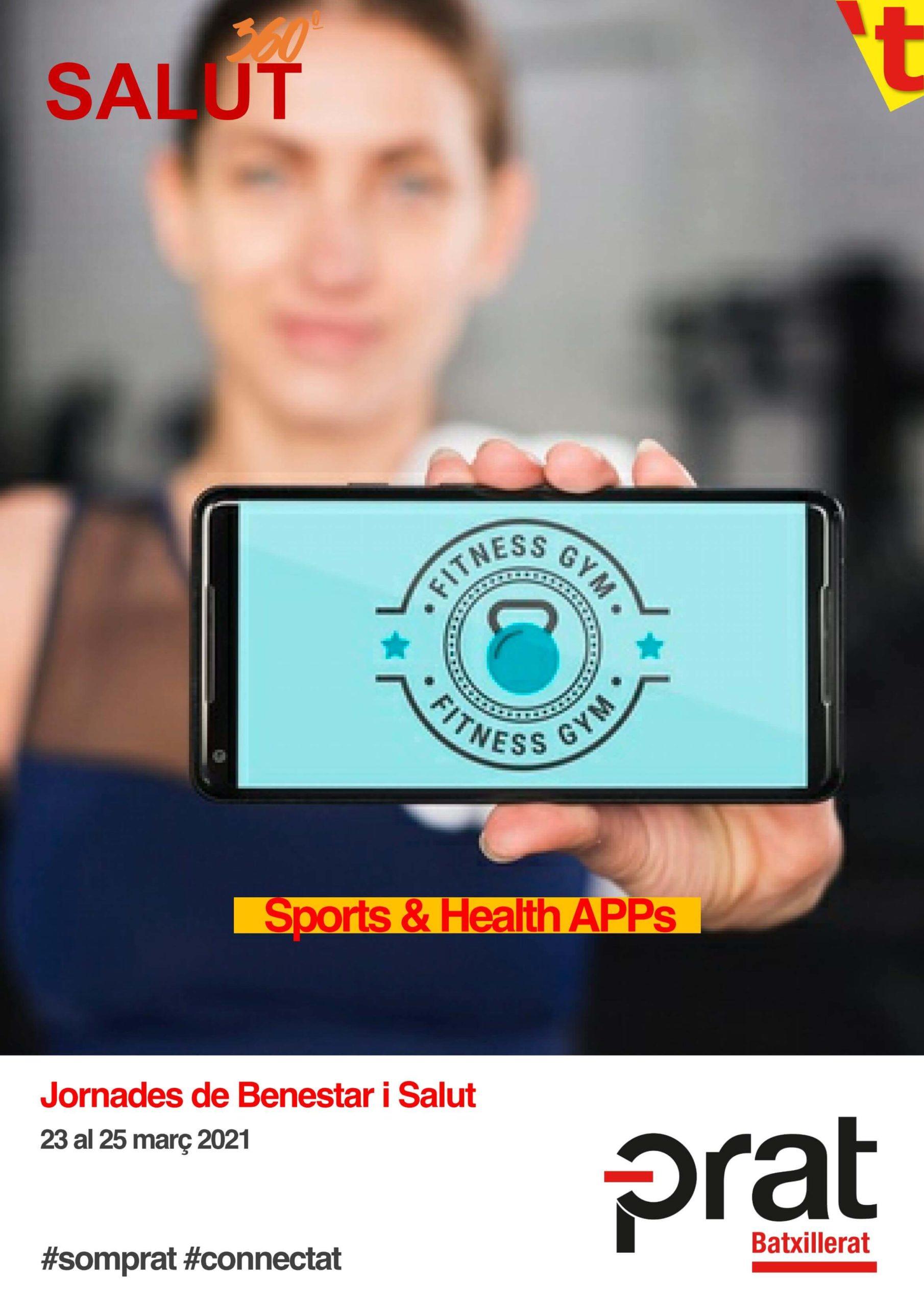 Jornades de Benestar i Salut: sports & health apps - Batxillerat a Prat Educació