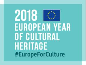 Logo Any Europeu del Patrimoni Cultural 2018