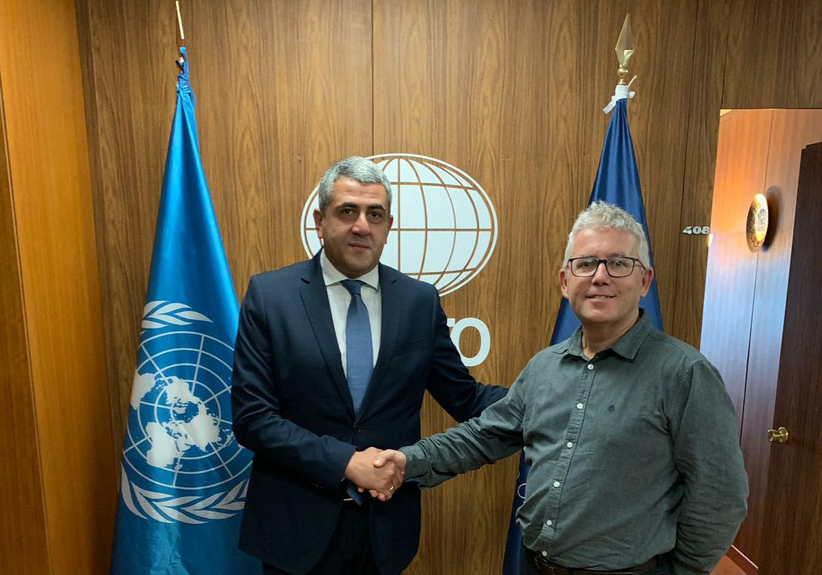Trobada amb el Secretari General de l'Organització Mundial del Turisme
