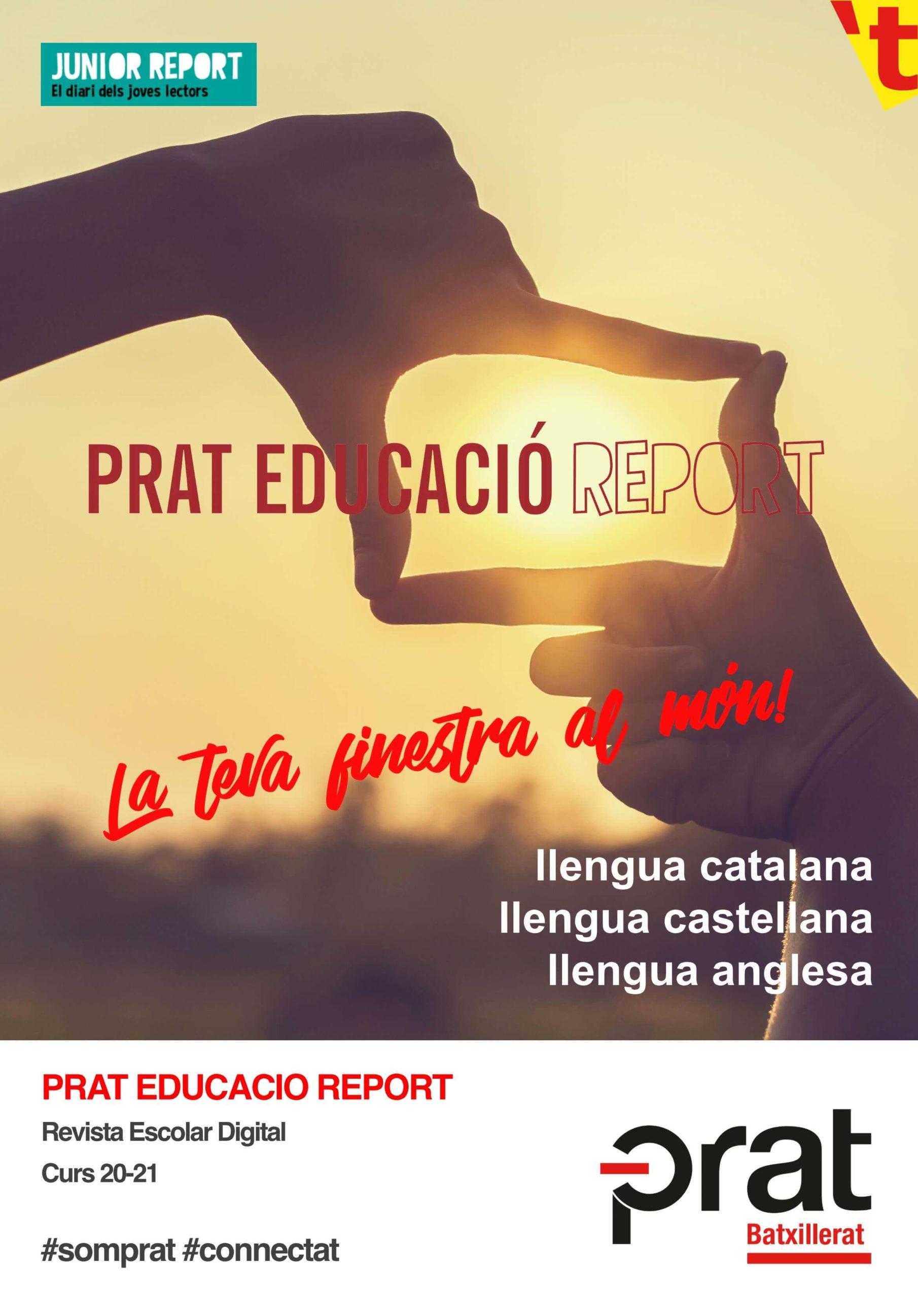 Prat Educació Report: Revista Escolar Digital