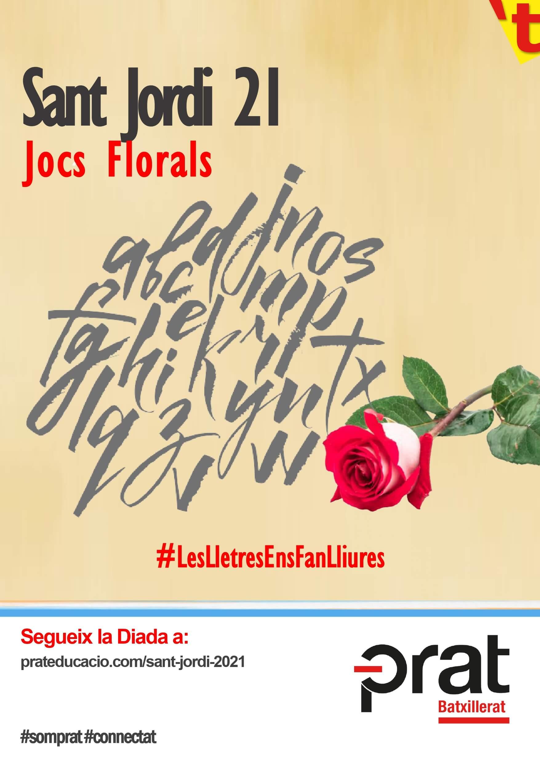 Sant Jordi 21 de Batxillerat a Prat Educació