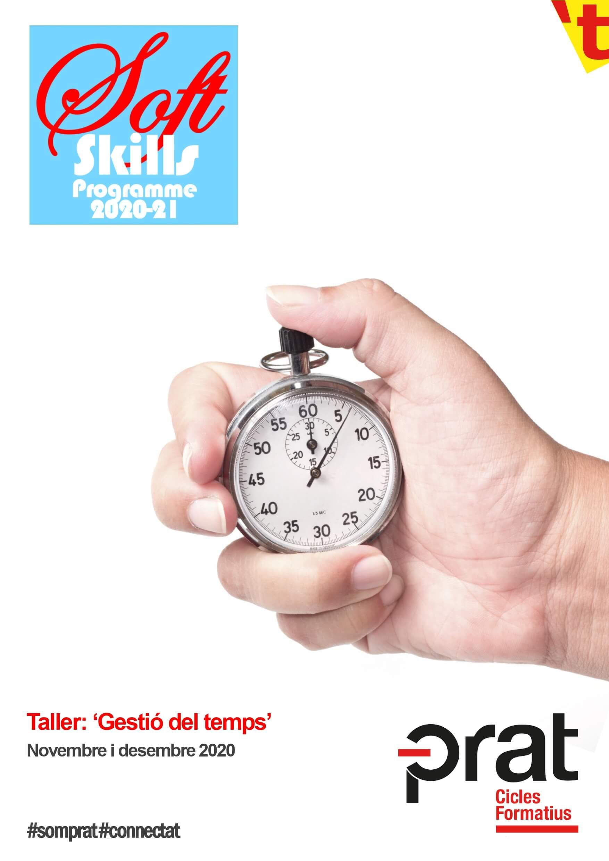 Taller gestió del temps