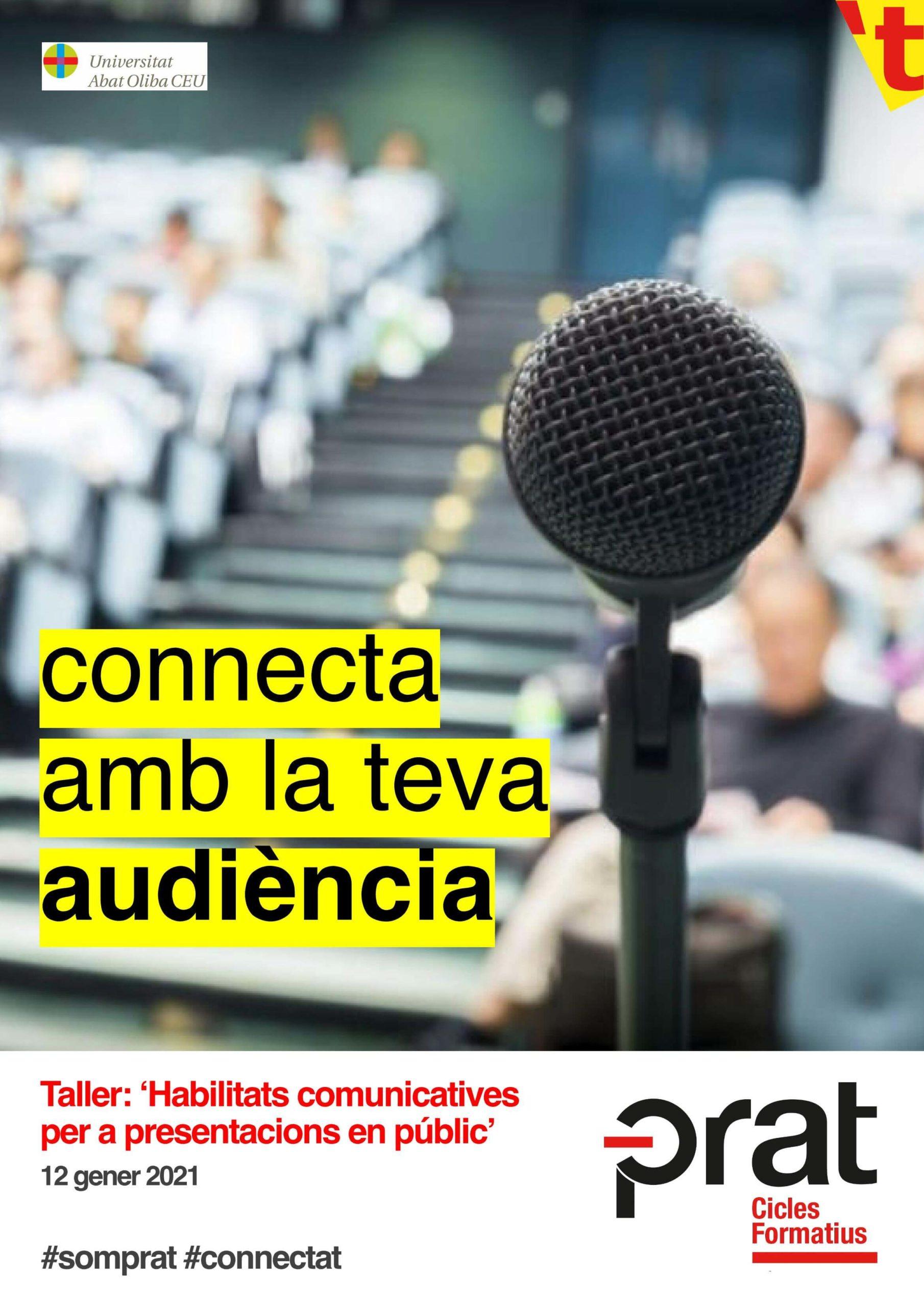 Taller habilitats comunicatives per a presentacions en públic