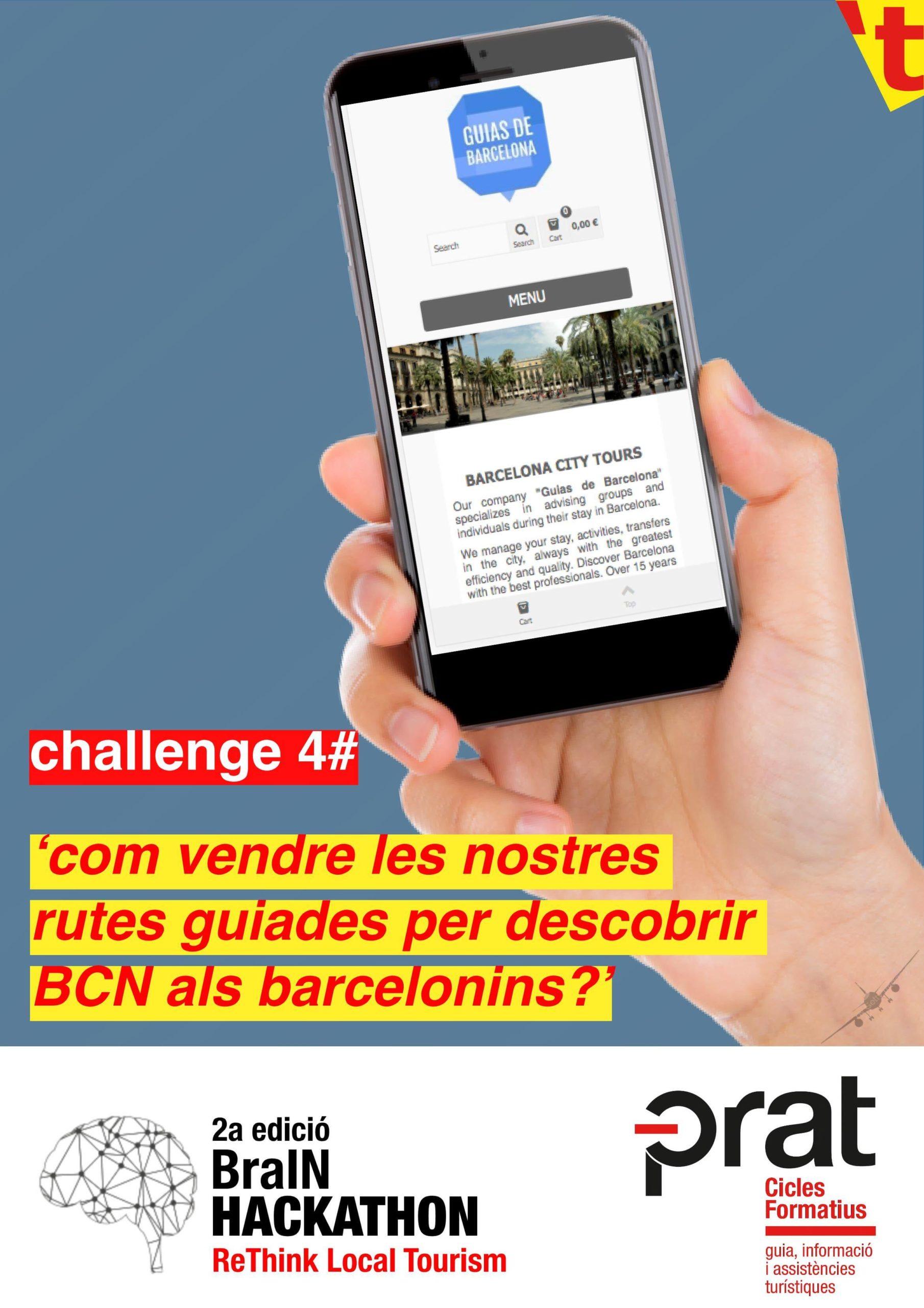 Hackathon de Turisme: repte 4 - Cicle Formatiu de Grau Superior de Turisme a Prat Educació