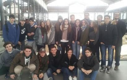 Alumnes de 1r de Batxillerat visiten el Born Centre Cultural