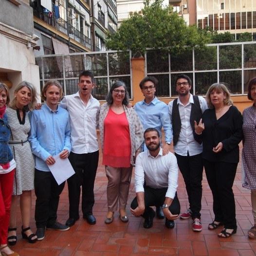 Entrega d'Orles als alumnes de CFGS de C.E. Prat