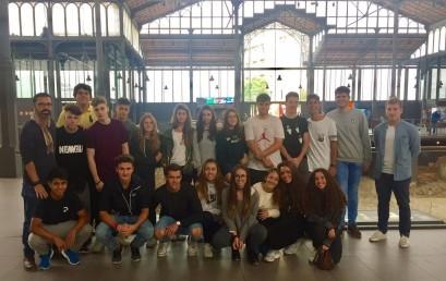 Alumnes de Batxillerat Prat al Born Centre Cultural