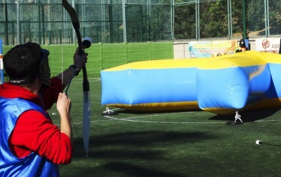 "Test de producte ""Archery"" by Bubble Football"