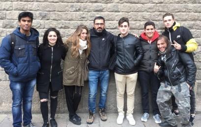 Visita guiada a la Catedral dels alumnes d'Història de l'Art i Turisme