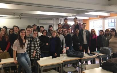 Intercanvi educatiu amb alumnes francesos de NETINVET