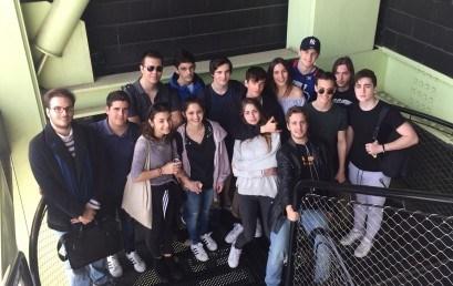 Recorregut urbà dels alumnes de Batxillerat pel Poblenou