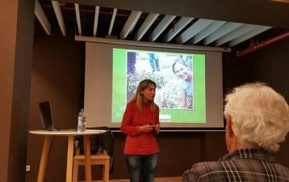 """Presentació del projecte """"Jarditours"""" de Mireia Teixidó, exalumna Prat"""