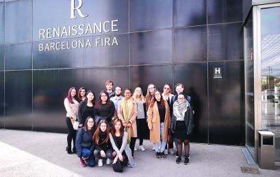 Visita a l'Hotel Renaissance Barcelona Fira dels alumnes de Turisme