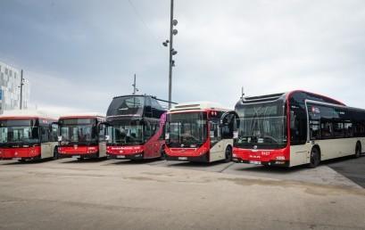 Barcelona ampliarà la seva xarxa d'autobusos amb 43 vehicles