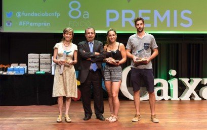 Premi Projecte FP Emprèn en la categoria de salut, esport i benestar