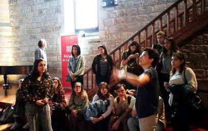 Els alumnes del CFGS de Turisme visiten la Biblioteca de Catalunya