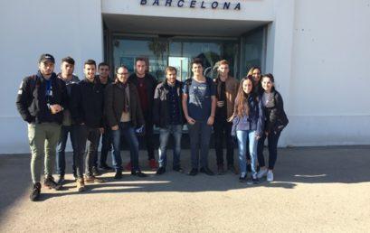 Primera trobada dels alumnes de Transport i Logística amb Port Innova