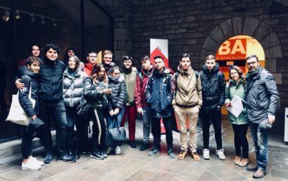 Els alumnes de Batxillerat viatgen a Barcino