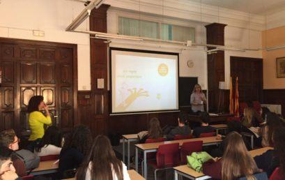 La UAB orienta els alumnes de Centre d'Estudis Prat en els estudis universitaris