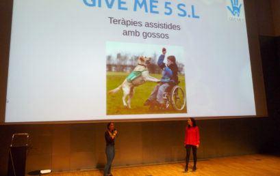 Give Me 5 projecte guanyador a la millor idea de CFGS a la 6ª Mostra de projectes emprenedors de l'FP a Catalunya