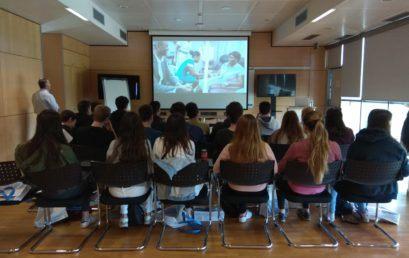 Visita dels alumnes de Batxillerat a Roche Diagnostics