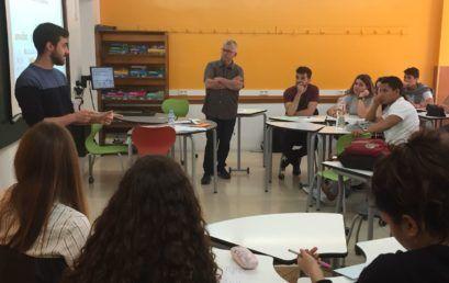 """Projecte pilot """"Intel·ligència emocional: De persones a bons professionals"""" a Prat"""