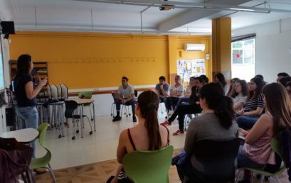 Xerrada dels Mossos d'Esquadra sobre violència masclista a Centre d'Estudis Prat