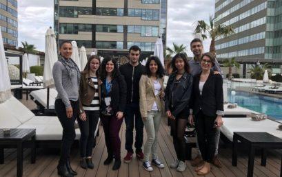 Els estudiants de Turisme visiten l'hotel Hilton Diagonal Mar Barcelona