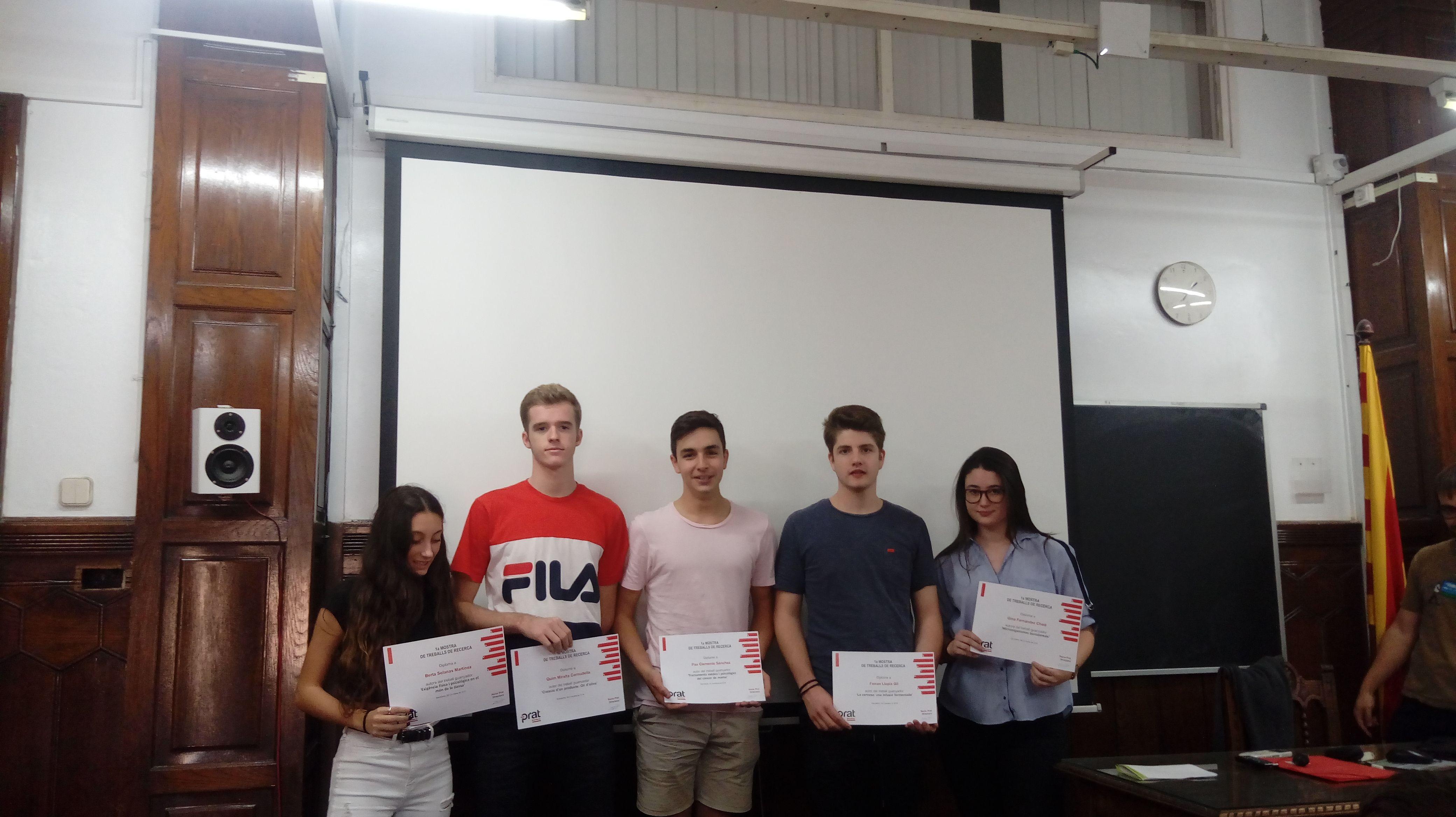 Alumnes Diplomes TR