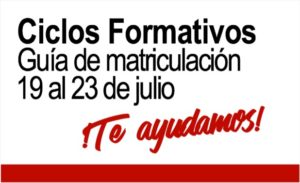 Ciclos Formativos - Guía de Matriculación